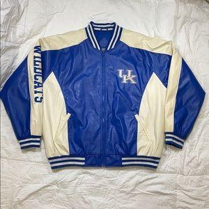 Steve & Barry`s Men`s Kentucky Varsity Jacket